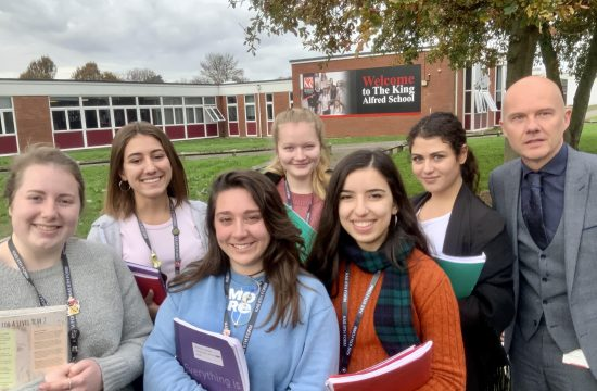 Selection of students in the sixth form
